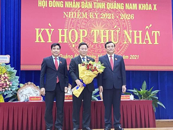 Ông Lê Trí Thanh tái đắc cử chủ tịch UBND tỉnh Quảng Nam - Ảnh 1.