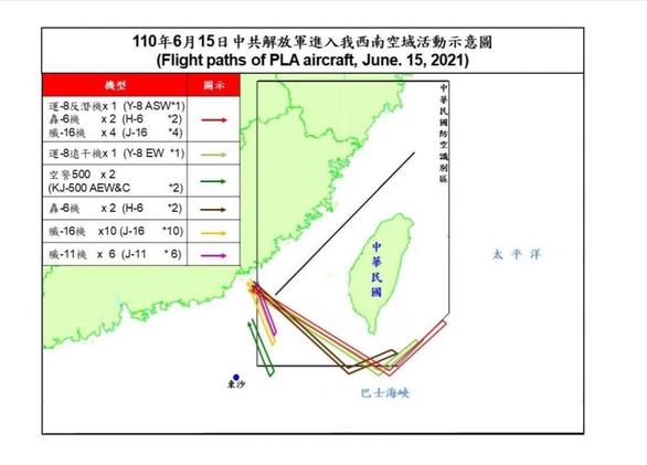 Trung Quốc đưa 28 máy bay ồ ạt áp sát ADIZ Đài Loan, Đài Loan báo động - Ảnh 2.