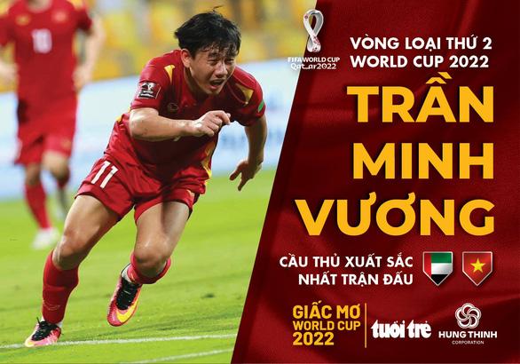 Minh Vương xuất sắc nhất trận UAE - Việt Nam - Ảnh 1.