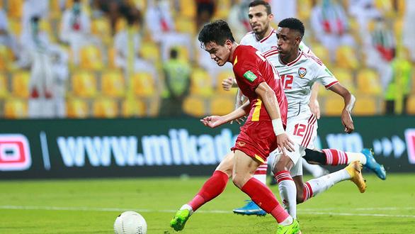 Việt Nam - UAE: 2-3: Ngày lịch sử của bóng đá Việt Nam - Ảnh 1.