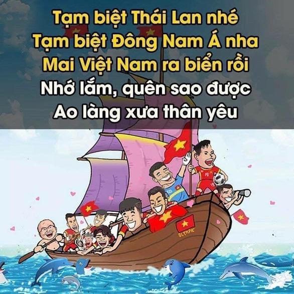 Cộng đồng mạng hào hứng chúc mừng tuyển Việt Nam lên thuyền đi tiếp vòng loại thứ 3 World Cup - Ảnh 4.