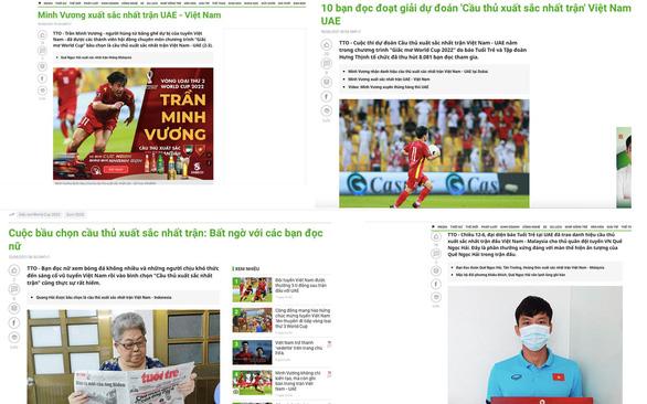 Cuộc thi Dự đoán cầu thủ Việt Nam xuất sắc nhất trận: Mất ngủ để bỏ phiếu mà vui - Ảnh 1.