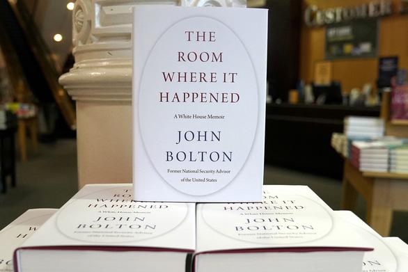 Bộ Tư pháp Mỹ khép lại điều tra về hồi ký cựu cố vấn an ninh Mỹ John Bolton - Ảnh 2.