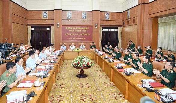 3 lãnh đạo chủ chốt tham gia Thường vụ Quân ủy Trung ương nhiệm kỳ 2020-2025 - Ảnh 2.