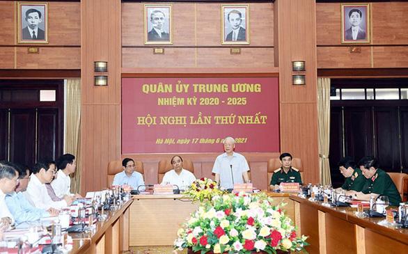 3 lãnh đạo chủ chốt tham gia Thường vụ Quân ủy Trung ương nhiệm kỳ 2020-2025 - Ảnh 1.