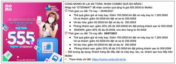 Ví MoMo cho ra mắt dịch vụ mới, ưu đãi thiết thực hỗ trợ người dùng Việt trong mùa COVID - Ảnh 7.