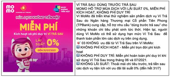 Ví MoMo cho ra mắt dịch vụ mới, ưu đãi thiết thực hỗ trợ người dùng Việt trong mùa COVID - Ảnh 6.