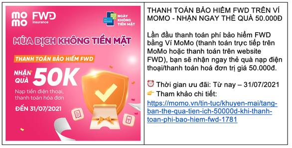 Ví MoMo cho ra mắt dịch vụ mới, ưu đãi thiết thực hỗ trợ người dùng Việt trong mùa COVID - Ảnh 5.