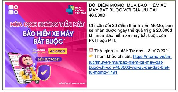 Ví MoMo cho ra mắt dịch vụ mới, ưu đãi thiết thực hỗ trợ người dùng Việt trong mùa COVID - Ảnh 2.