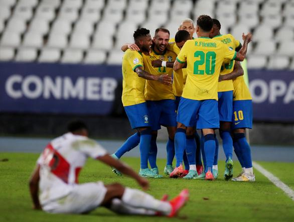 Neymar lập công giúp Brazil thắng 4 sao - Ảnh 1.