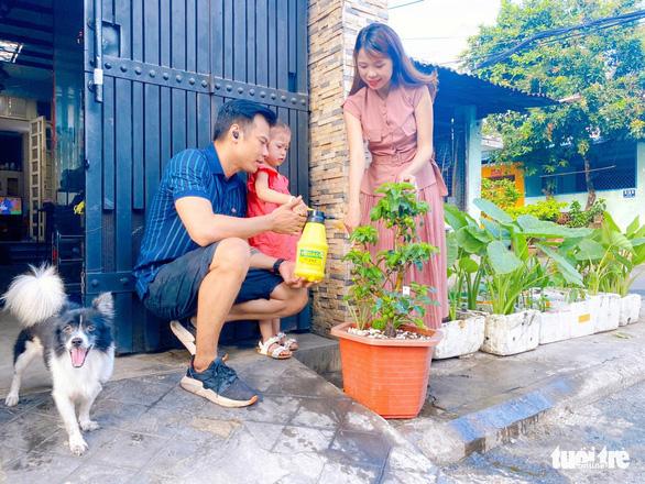 Cây táo xanh tươi gắn kết tình người nơi cách ly giữa Sài Gòn - Ảnh 1.