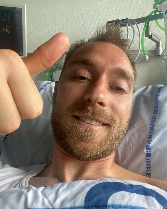 Christian Eriksen xuất viện sau khi phẫu thuật thành công - Ảnh 1.