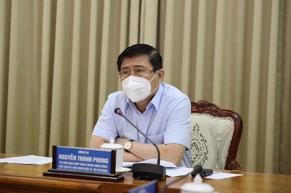 Chủ tịch Nguyễn Thành Phong: Siết chặt, nâng cao mức độ chống dịch là phù hợp với tình hình - Ảnh 1.