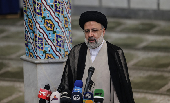 Thẩm phán bị Mỹ trừng phạt đắc cử tổng thống Iran - Ảnh 1.