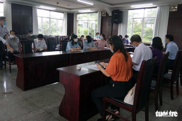 Đồng Nai: Vợ ca nghi nhiễm làm việc tại Công ty Pousung, hơn 18.400 công nhân được cho nghỉ - Ảnh 1.