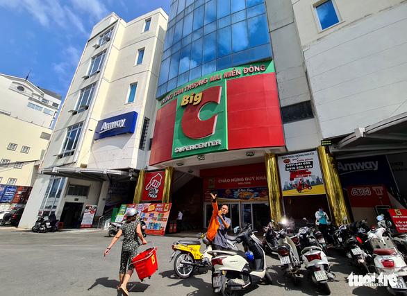 TP.HCM tạm thời đóng cửa Big C Miền Đông đường Tô Hiến Thành vì ca F0 vào mua sắm - Ảnh 1.