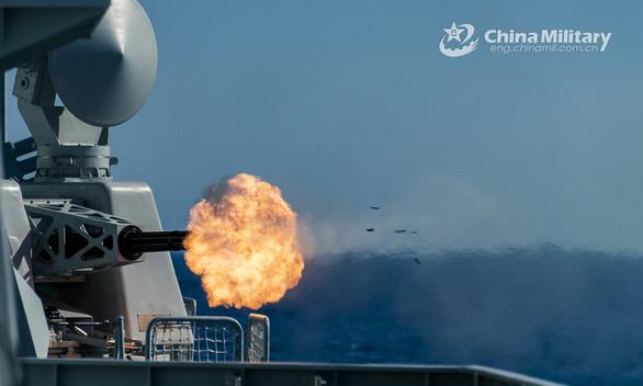 Trung Quốc thông báo tập trận cả tuần ở Biển Đông - Ảnh 2.