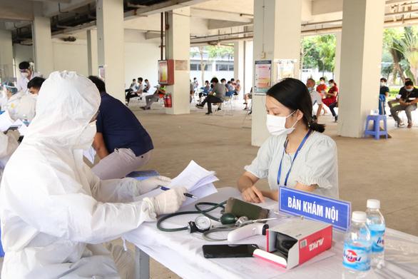 Số F0 ở ổ dịch liên quan khu công nghiệp tại Bắc Giang giảm rõ rệt - Ảnh 1.