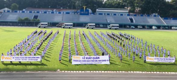 350 bác sĩ, điều dưỡng, nhân viên VNVC tham gia tiêm chủng - Ảnh 2.