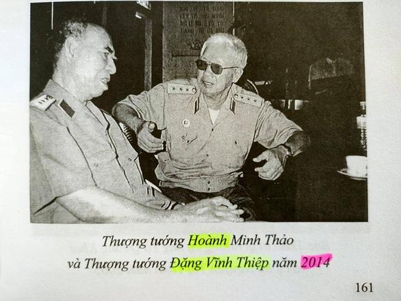 Sách kỷ niệm 100 năm sinh Thượng tướng Hoàng Minh Thảo vấp nhiều sai sót - Ảnh 2.
