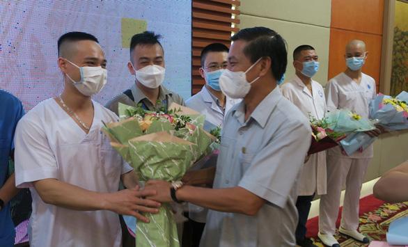 Hải Phòng, Quảng Ninh cử lực lượng mạnh đến Bắc Giang hỗ trợ dập dịch COVID-19 - Ảnh 2.