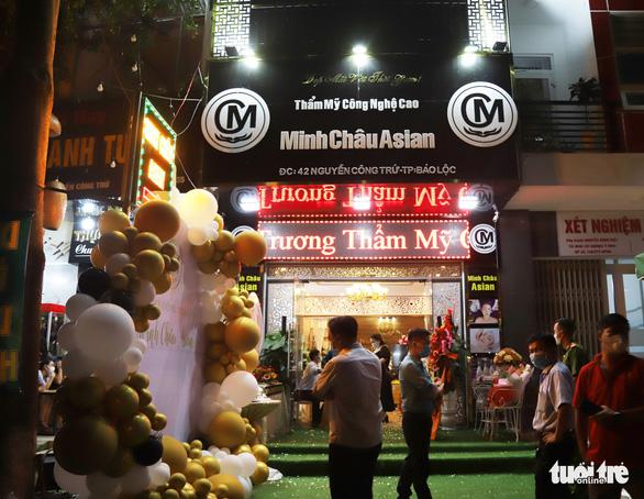 31 người khắp tỉnh thành có dịch tụ tập khai trương thẩm mỹ viện ở Bảo Lộc - Ảnh 1.