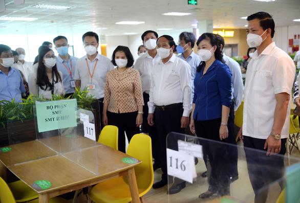 Bắc Ninh nhân rộng mô hình bố trí chỗ ăn, ở của công nhân tại nhà máy - Ảnh 1.