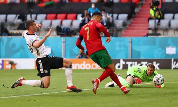 Ronaldo ghi bàn nhưng Bồ Đào Nha sụp đổ sau 2 pha phản lưới nhà trong 4 phút - Ảnh 1.