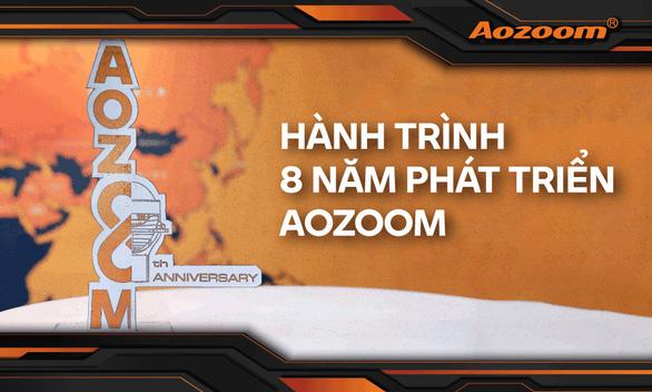 8 năm phát triển của AOZOOM - thương hiệu đèn tăng sáng cho ô tô - Ảnh 1.