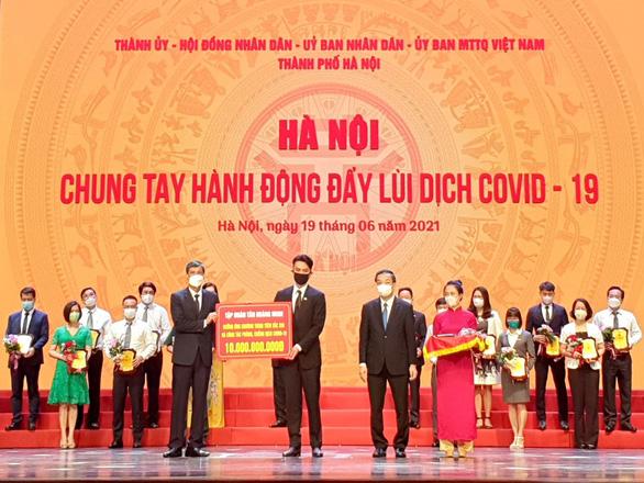 Tập đoàn Tân Hoàng Minh ủng hộ 20 tỉ đồng, chung tay đẩy lùi dịch COVID-19 - Ảnh 2.