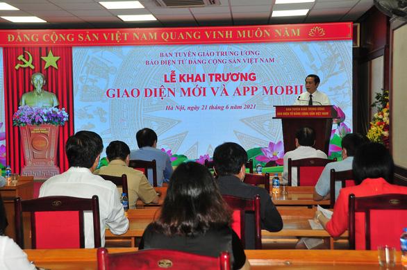 Ra mắt app di động mới Báo điện tử Đảng Cộng sản Việt Nam - Ảnh 1.