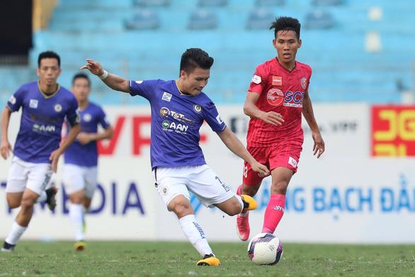Công ty VPF đề xuất giai đoạn 2 V-League 2021 thi đấu tập trung không có khán giả - Ảnh 1.