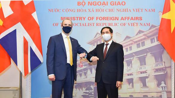 Bộ trưởng Bùi Thanh Sơn đề nghị Anh xem xét chuyển giao công nghệ vắc xin COVID-19 cho Việt Nam - Ảnh 1.