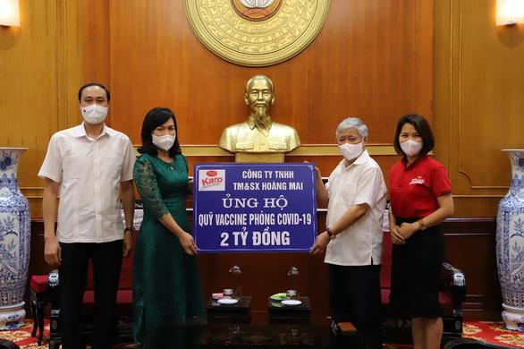 Karo phát động chương trình ủng hộ quỹ Vaccine phòng chống COVID-19 - Ảnh 1.