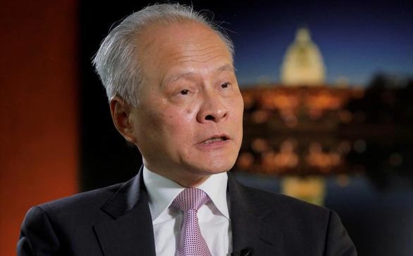 Trung Quốc thay đại sứ thâm niên nhất ở Mỹ - Ảnh 1.