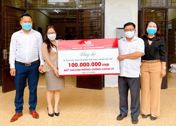 VsetGroup ủng hộ Quỹ vắc xin - Ảnh 1.