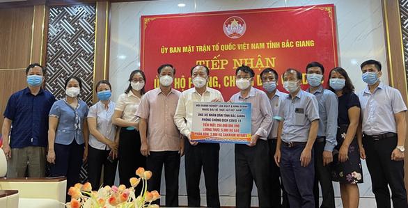VIPA hỗ trợ Bắc Ninh, Bắc Giang phòng chống COVID-19 - Ảnh 1.
