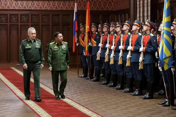 Nga cam kết củng cố quan hệ quân sự cùng Myanmar - Ảnh 1.