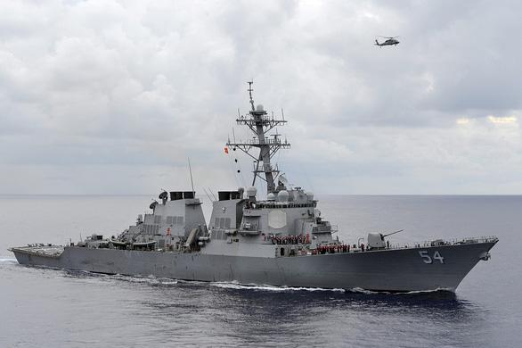Mỹ lại điều tàu chiến qua eo biển Đài Loan, Trung Quốc phản đối