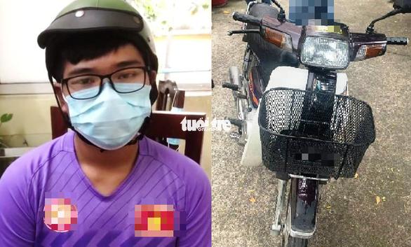 Bắt hai nam thanh niên thua độ bóng đá, cầm dao đi cướp xe ở Tân Bình - Ảnh 1.