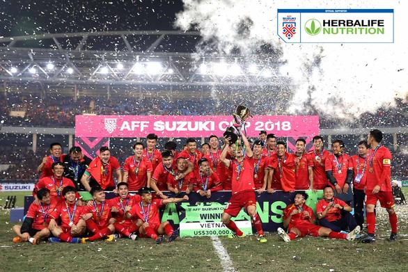 Herbalife Việt Nam là Nhà Tài Trợ Đồng Hành của AFF Suzuki Cup 2020 - Ảnh 1.