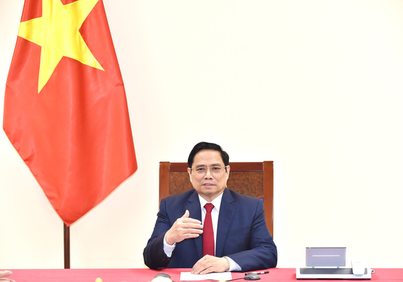 Thủ tướng Phạm Minh Chính đề nghị WHO hỗ trợ Việt Nam sản xuất vắc xin COVID-19 - Ảnh 1.