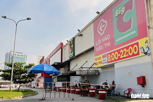 Dỡ phong tỏa Big C Đồng Nai trước thời hạn, siêu thị mở cửa trở lại từ 8h sáng 25-6 - Ảnh 1.