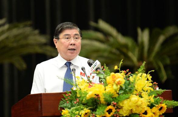 Ông Nguyễn Thành Phong tái đắc cử chủ tịch UBND TP.HCM - Ảnh 1.