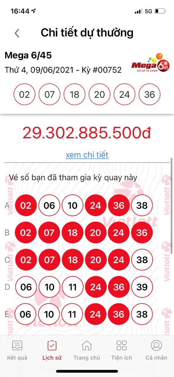 Thuê bao MobiFone trúng Jackpot qua kênh Vietlott SMS nhận giải trị giá gần 30 tỉ đồng - Ảnh 2.