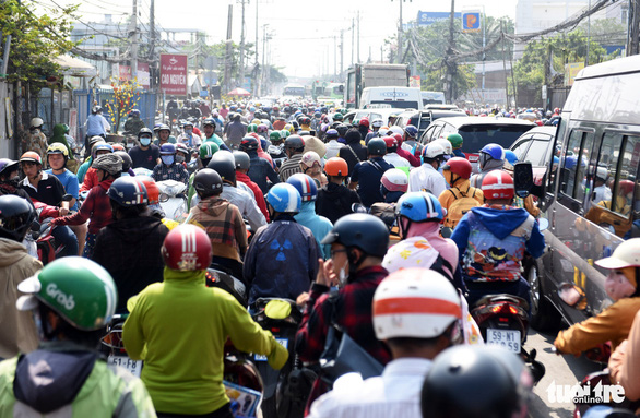 Trình HĐND chủ trương mở rộng quốc lộ 50, huyện Bình Chánh - Ảnh 1.