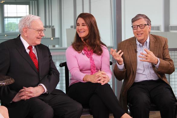 Tỉ phú Warren Buffett rời Quỹ Bill & Melinda Gates - Ảnh 1.