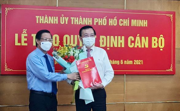 Ông Lê Hồng Sơn làm phó trưởng Ban Tuyên giáo Thành ủy TP.HCM - Ảnh 1.
