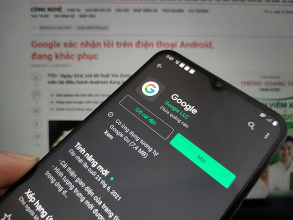 Google hướng dẫn khắc phục lỗi 'liên tục dừng' trên điện thoại Android - Ảnh 1.