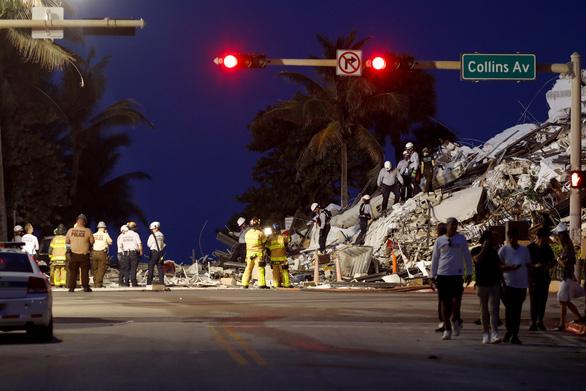 Tòa nhà 12 tầng bị sập ở Mỹ đã bị lún nhiều năm - Ảnh 3.